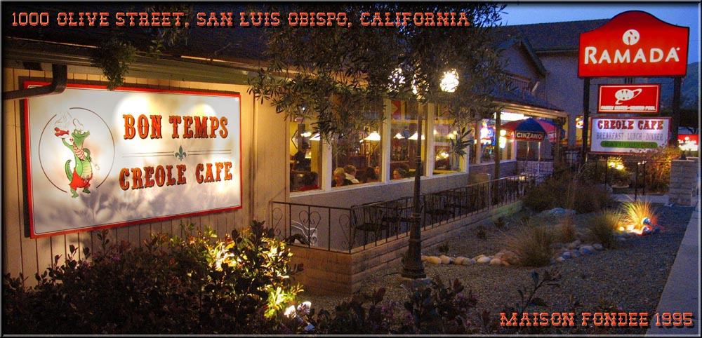 Bon Temps Cafe - San Luis Obispo, California